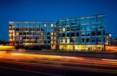 University of Sheffield Jessop West development, South Yorkshire, United Kingdom.