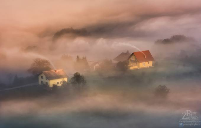 In the fog by saintek - Around the World Photo Contest