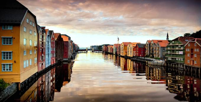 River Nid_Trondheim by Badgrandad - Canals Photo Contest