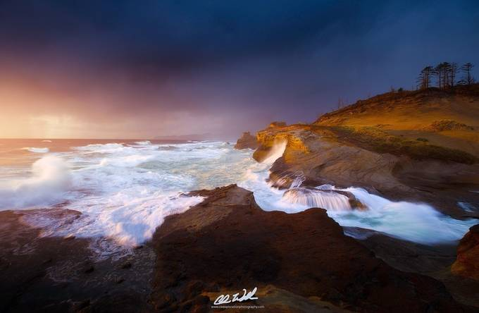 Luminous Eruption  by ChrisWilliamsEXP - A Storm Is Coming Photo Contest