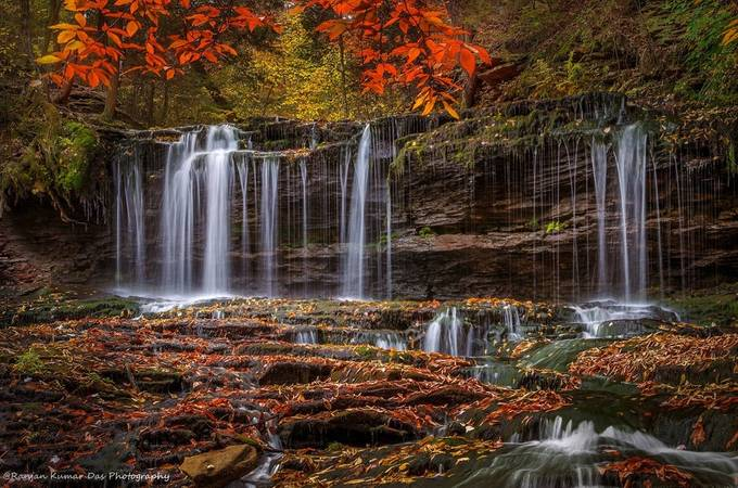 The Cascade by RanjanKD - Fall 2017 Photo Contest