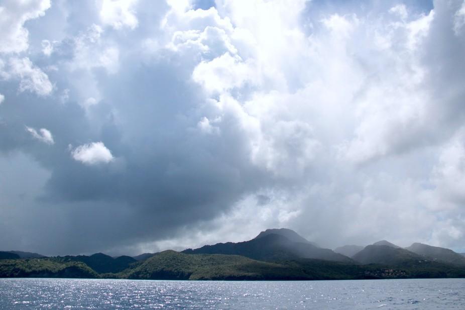 St Lucia is a Tropical Rainforest area.