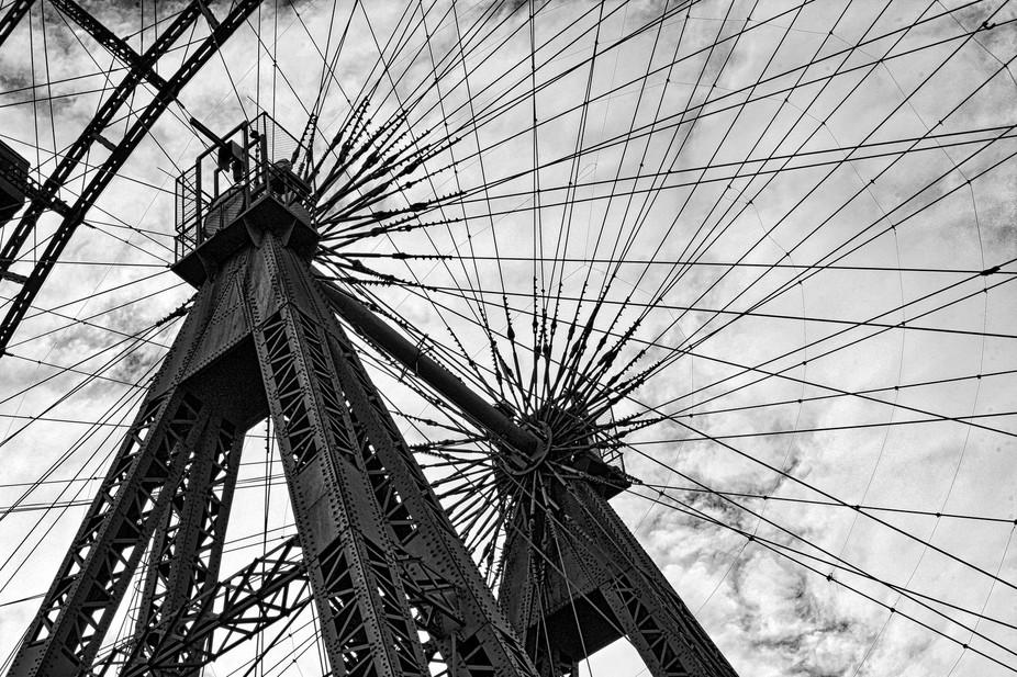 Vienna Austria Ferris Wheel