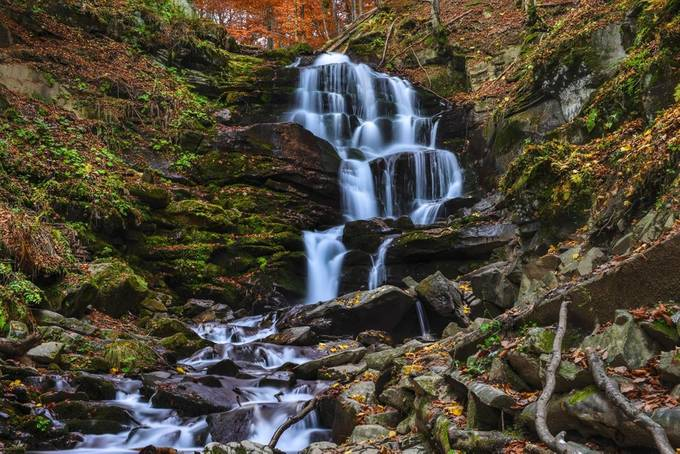 Whisper of the Carpathians by oksanavashchuk - Beautiful Waterfalls Photo Contest