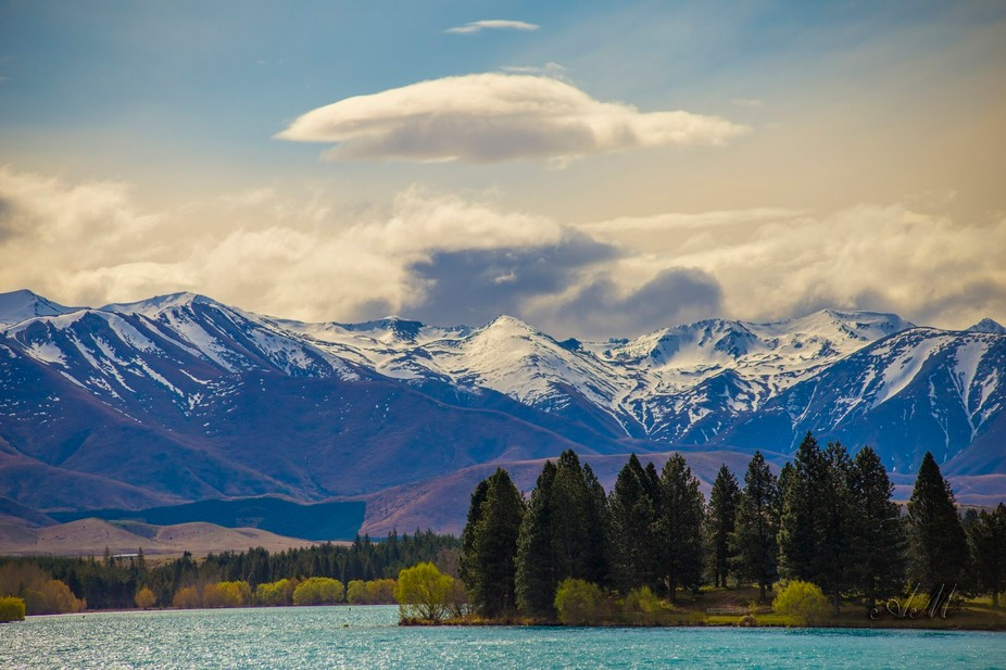 Tekapo Lake, New Zeland