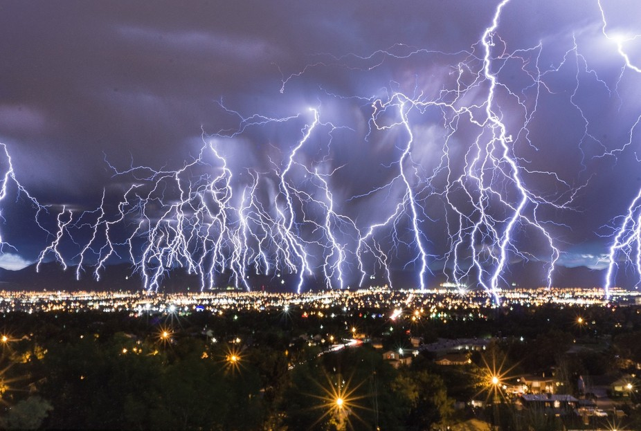 One stormy night in the city of Sandy in the state of Utah, my room mate called me up and told me...