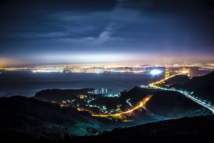 Warm Marin Night by MikeVinceD - Around the World Photo Contest By Discovery