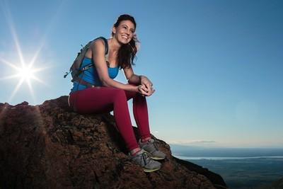 Scarlett on the mountain