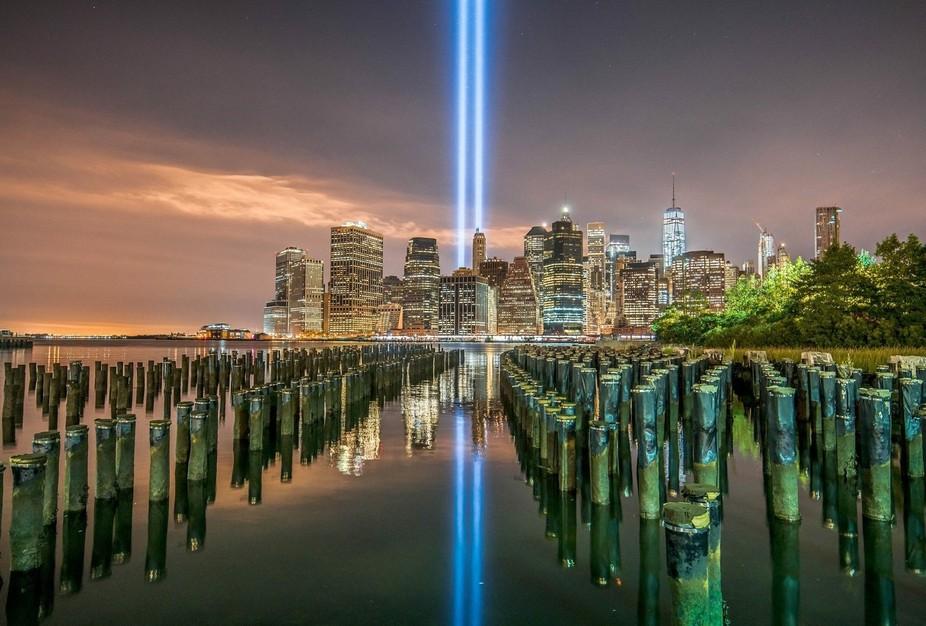 Memorial Lights 9/11/15