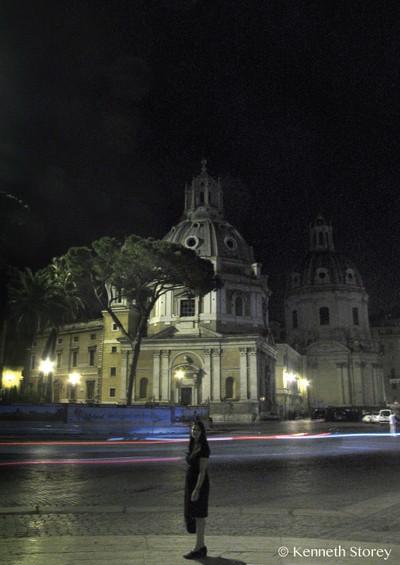 Rome at night copy