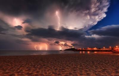Thunderstorm Sardinia