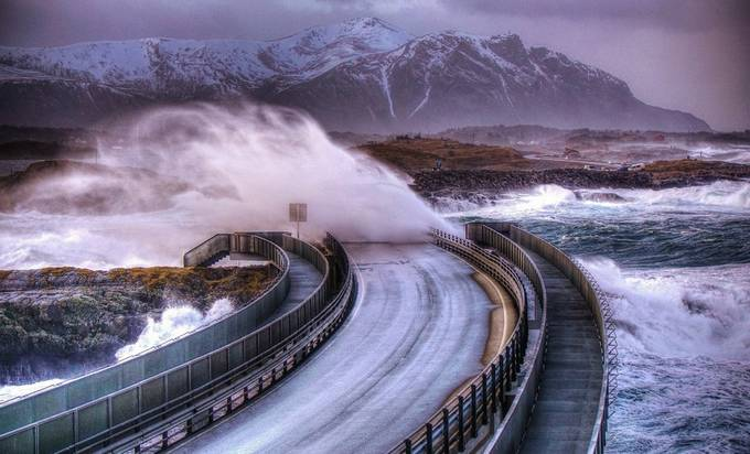 Atlantic Road by janhelge - A Road Trip Photo Contest