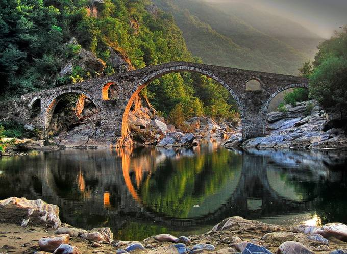 Devil's bridge by EdVal - Architecture And Reflections Photo Contest