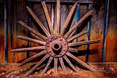 Time Worn Wheel
