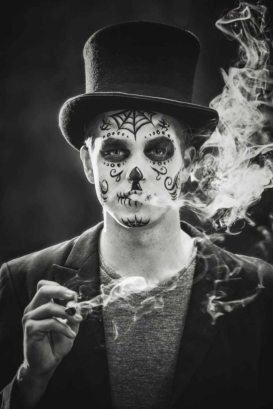 Skull Candy by Charlotte1985 - A Black And White World Photo Contest