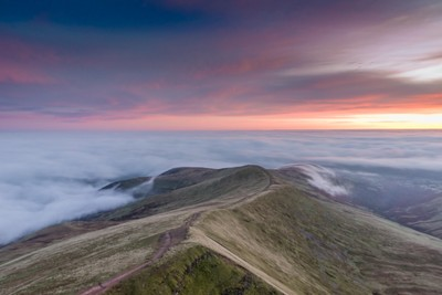 Moments before Dawn - Cefn Cwm Llwch