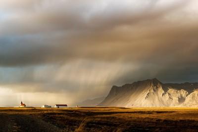 Iceland Church - Adrian Theze