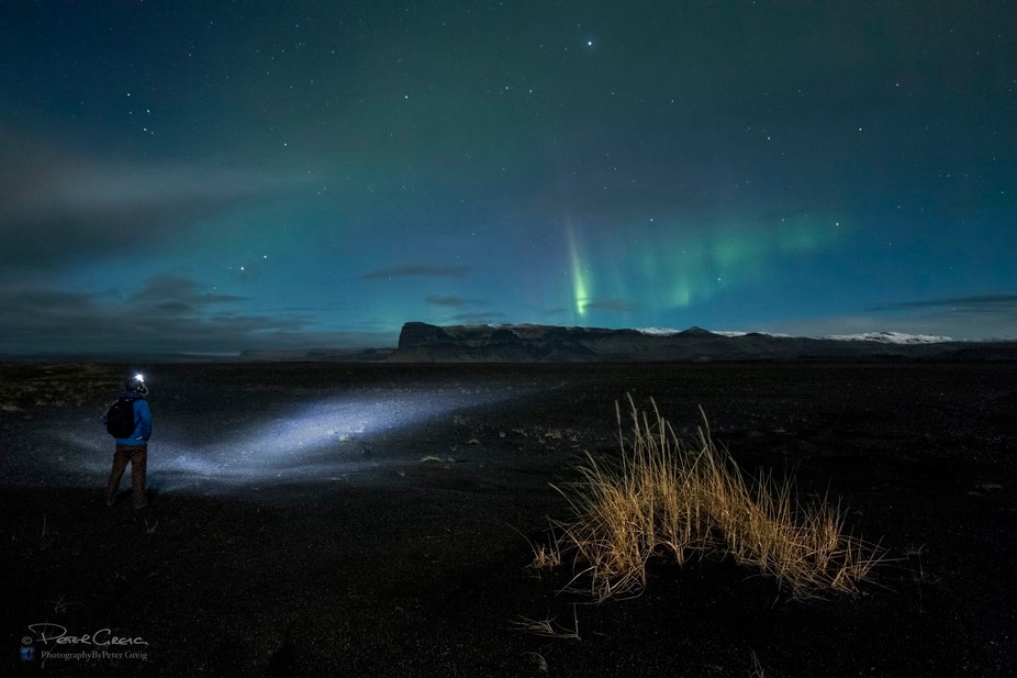 I couldn't resit a selfie with the aurora during my recent trip to Iceland. This shot wa...