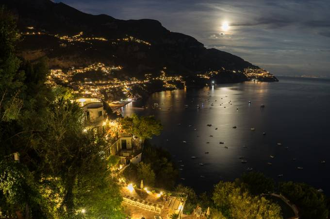 Positano by ScottELB - The Moonlight Photo Contest