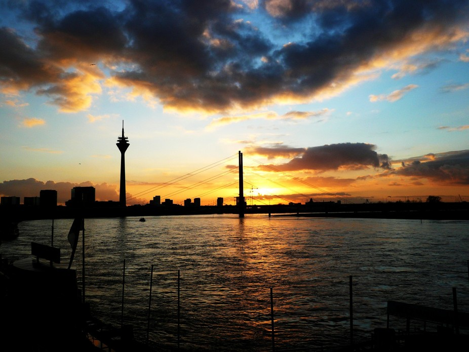 Dusseldorf Sunset