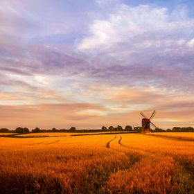 Stevington windmill,  UK