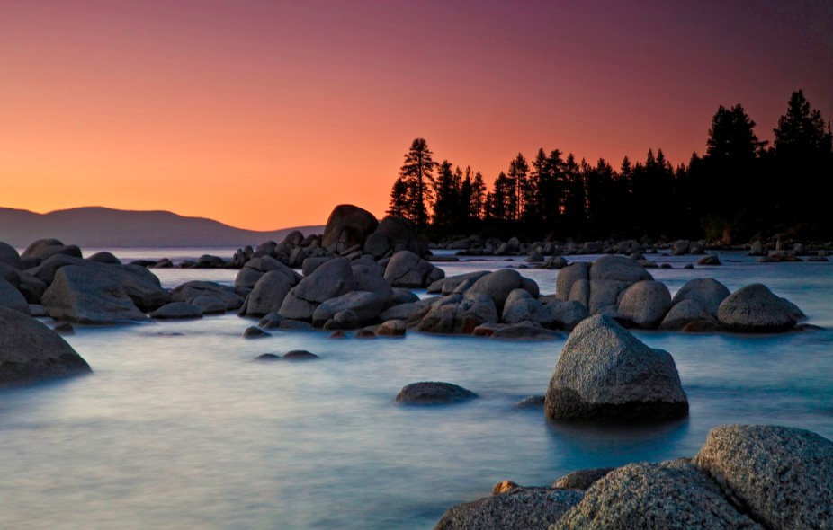 Sunset at Tahoe