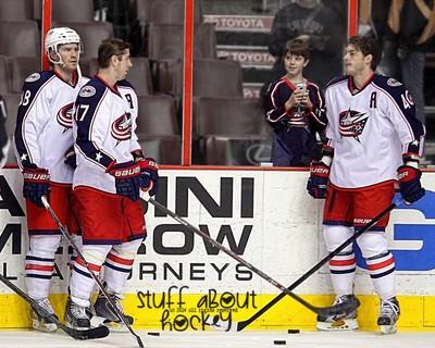 Stuff That Surprised Brandon Dubinsky About Hockey . . .  A Little #blueJackets Fan . . . In Philadelphia !!