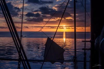Sunset, French Polynesia
