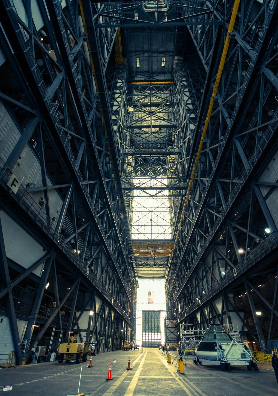 Vehicle Assembly Building - NASA by JamieScottPhotography - Warehouses Photo Contest