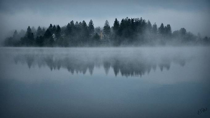 Holy Cross fog1 by wrenny - Mist And Drizzle Photo Contest
