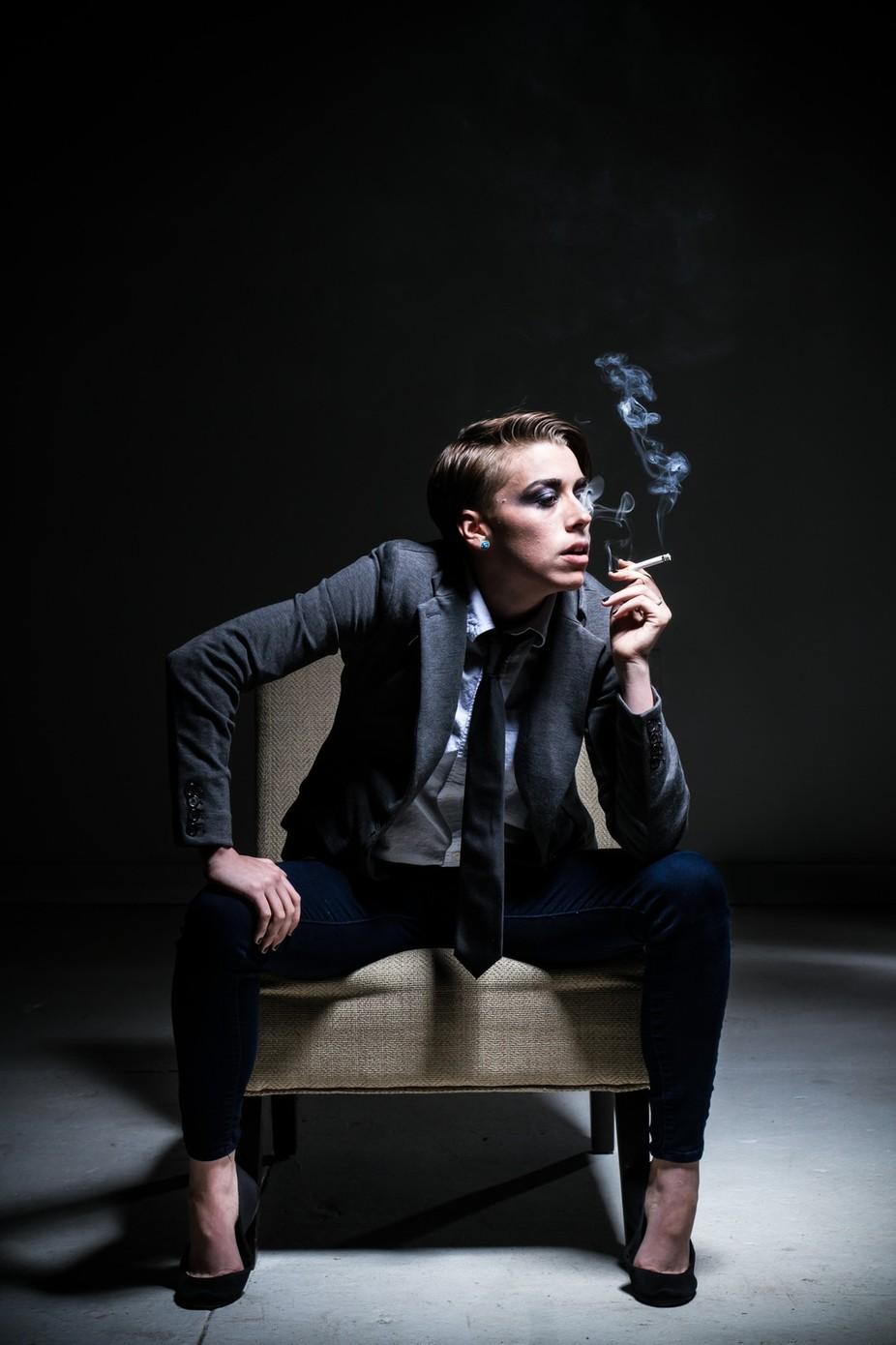 Smoke Break by rueromani - Everything Smoke Photo Contest