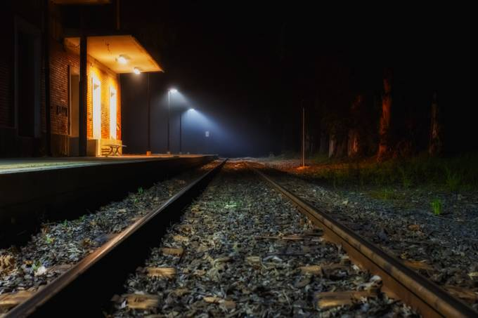 The Wait by Janx - Empty Railways Photo Contest
