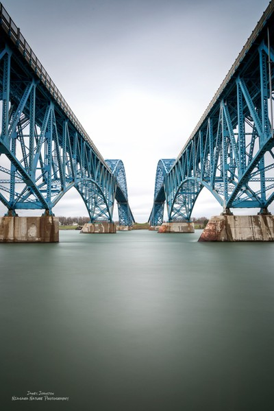 Grand Island Bridge Color Study