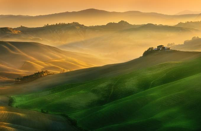 Mucigliani hills... by kbrowko - Alluring Landscapes Photo Contest