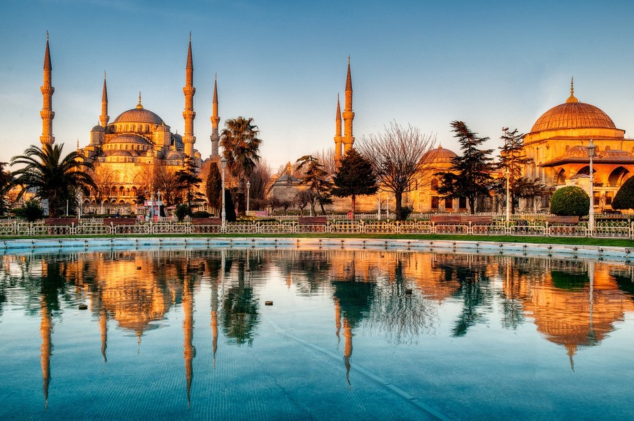 Six Spires of the Blue Mosque