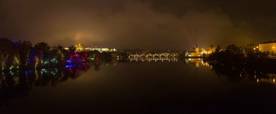 Prague light festival