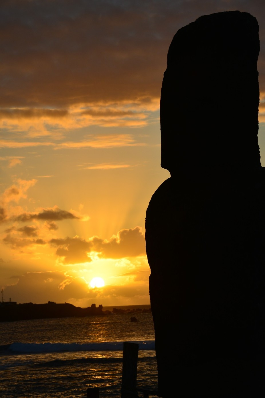 On a trip to South America , my sister and I flew to Easter Island for a breif 3 days it was beau...