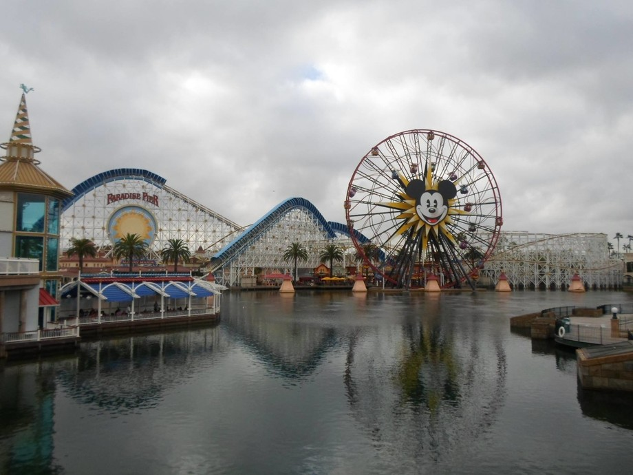 My favourite place in the whole world is Disneyland and California Adventure.
