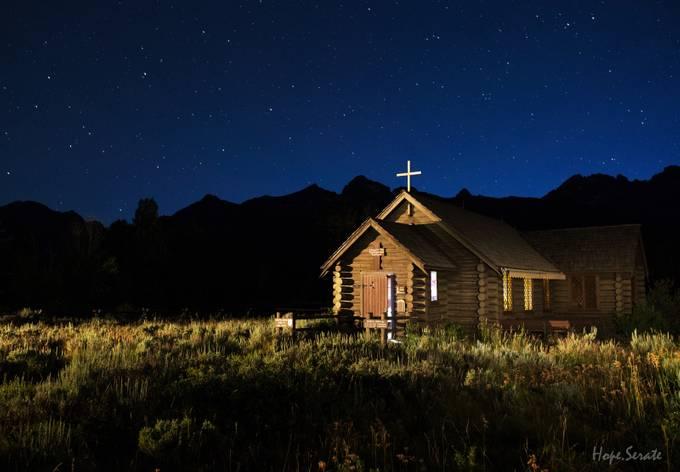 Starry, Starry Night by HopeCharmaine - Faith Photo Contest with Scott Jarvie
