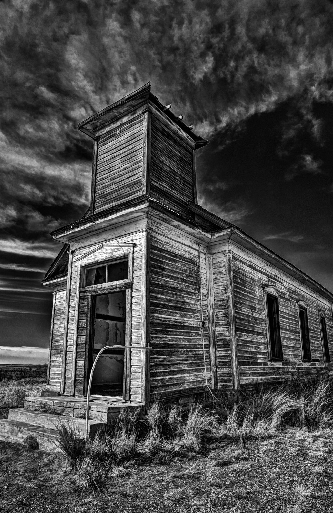 Old church in Taiban, New Mexico