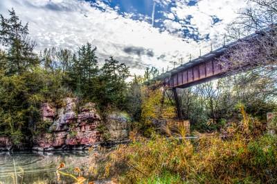 Bridge & Rocks South Dakota