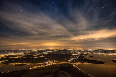 Rigi by Night