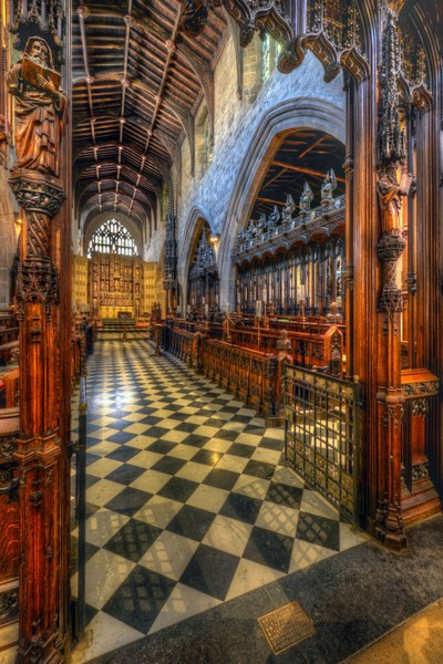 Through the Choir Stalls