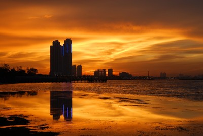 Ancol's sunset