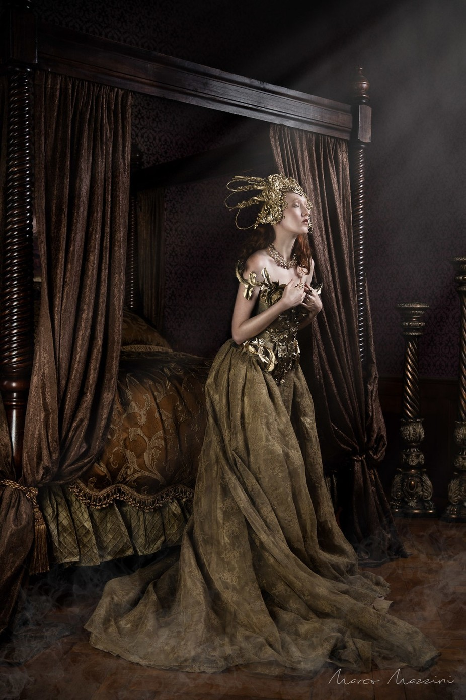 The Goddess by MarcoMazzini - The Brown Color Photo Contest