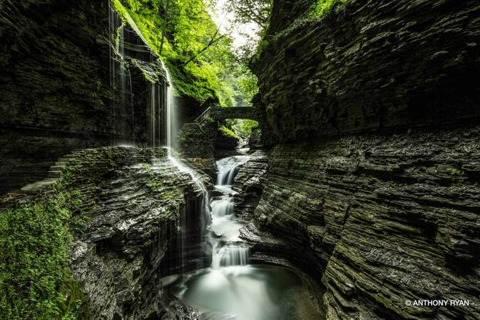 Watkins Glen by anthonyryan - The Magic Of Moving Water Photo Contest