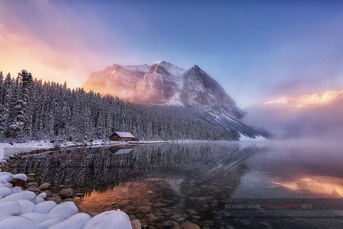 Lake Louise by markrichard - Composing with Curves Photo Contest