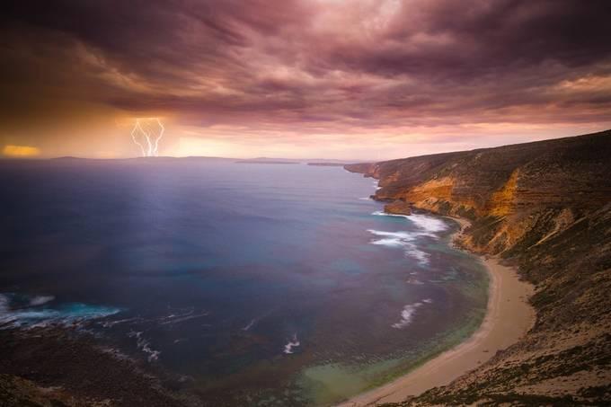 Summer Storm by Harvinho - Discover Oceania Photo Contest