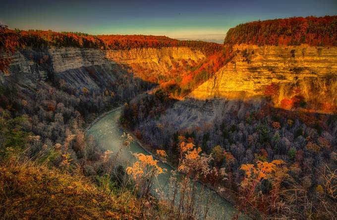 Great Canyon of the East  by timot78 - Secret Canyons Photo Contest