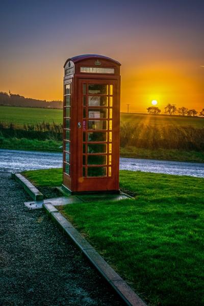 phonebox sunrise